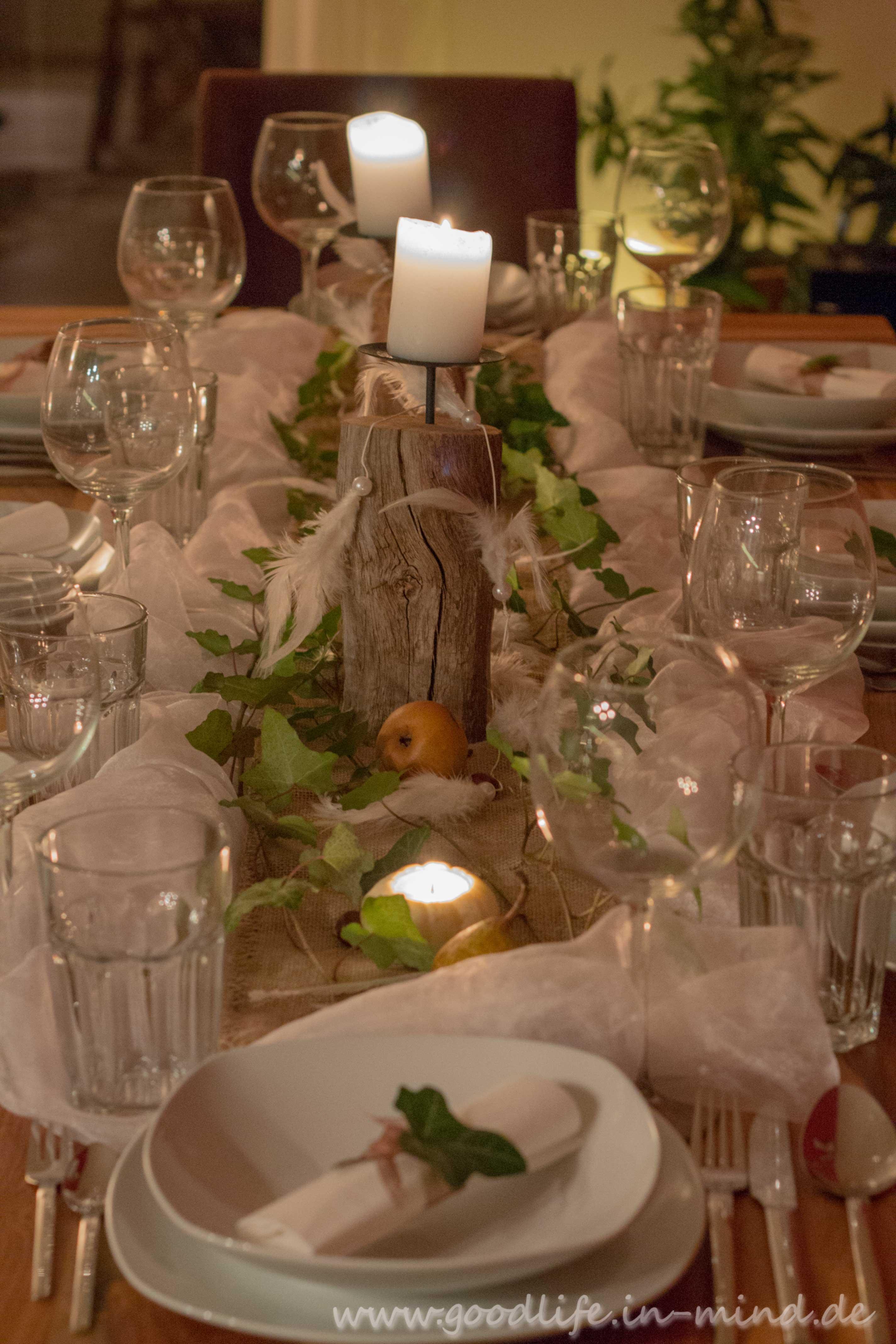 Neu Tischdeko Mit Fotos Schema