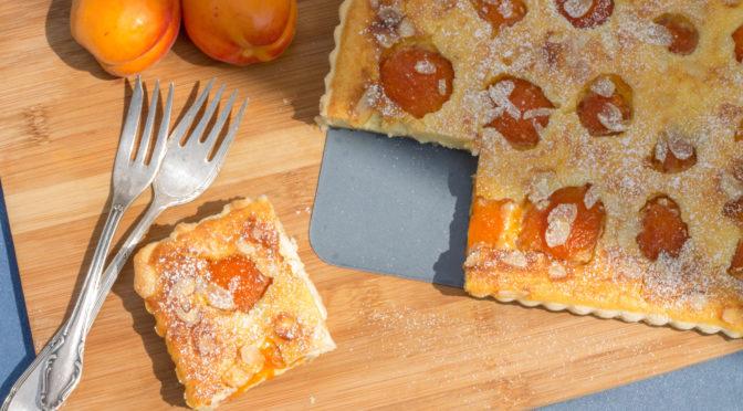 Aprikosen-Tarte mit Ricottacreme