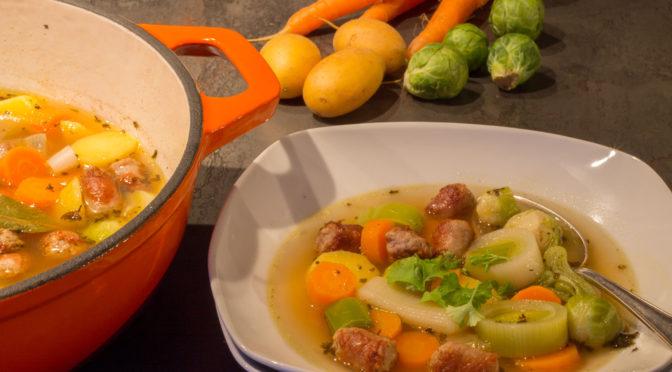 Gemüseeintopf, denn etwas Warmes braucht jeder