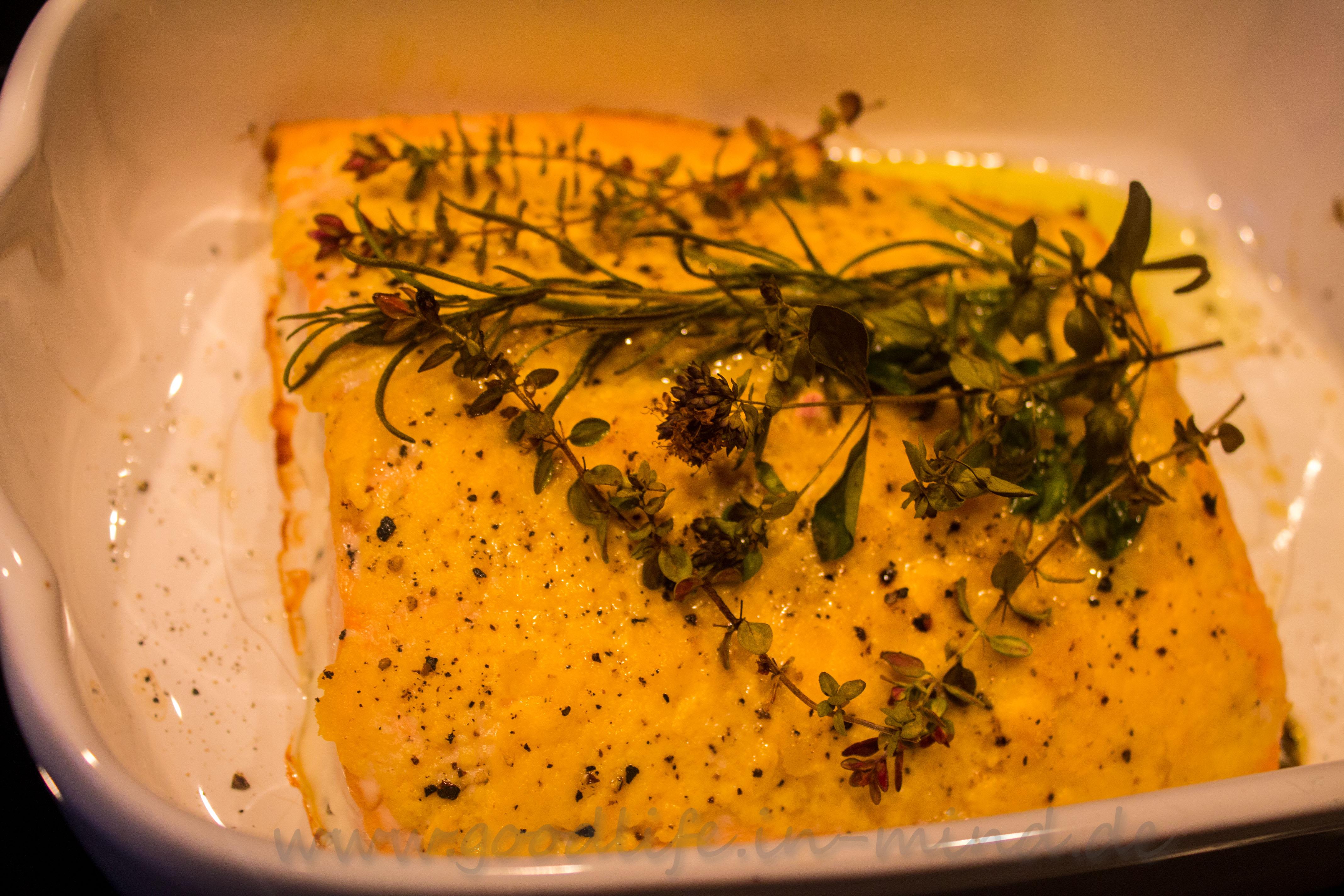 Lachsfilet Rezept Aus Dem Ofen Schnelles Lachsfilet Rezept