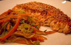 Lachs mit Zuccinispaghetti2