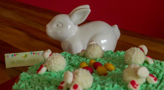 Frohe Ostern mit der kunterbunten Bunnytorte