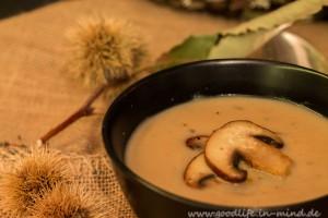 Maronen-Birnen-suppe