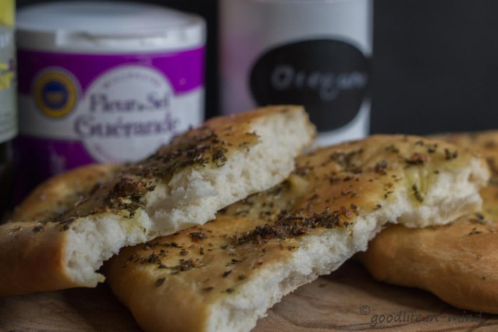 Focaccia-Nebenprodukt-vom-Pizzagrundteig