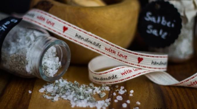 Salbei-Salz … ein Salz und 100 Verwendungsmöglichkeiten