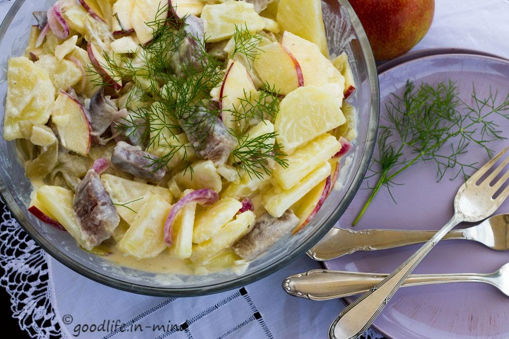 Matjes-Kartoffel-schnelle-saure-Gurken