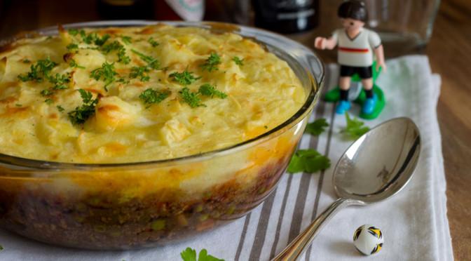 Sheperd's Pie ein irisches Gericht und die Fußball-EM