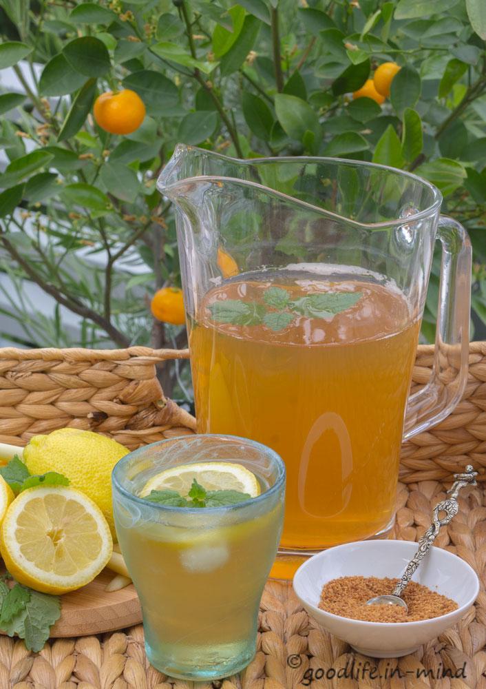 Tee-mit-Zitronengras