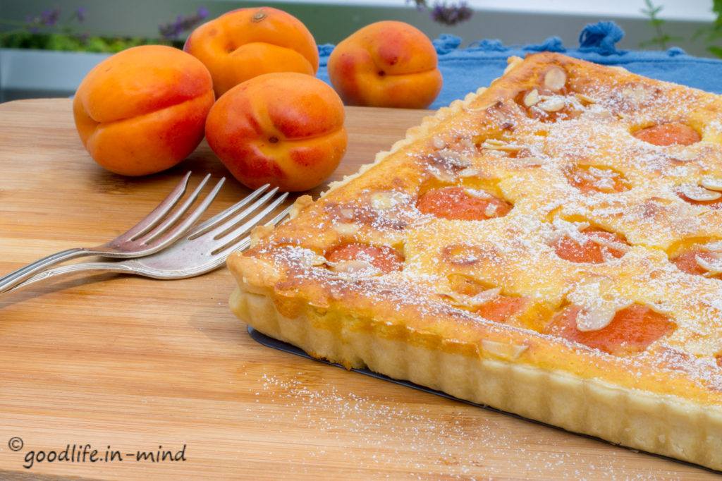 Aprikosen-Ricotta-Tarte