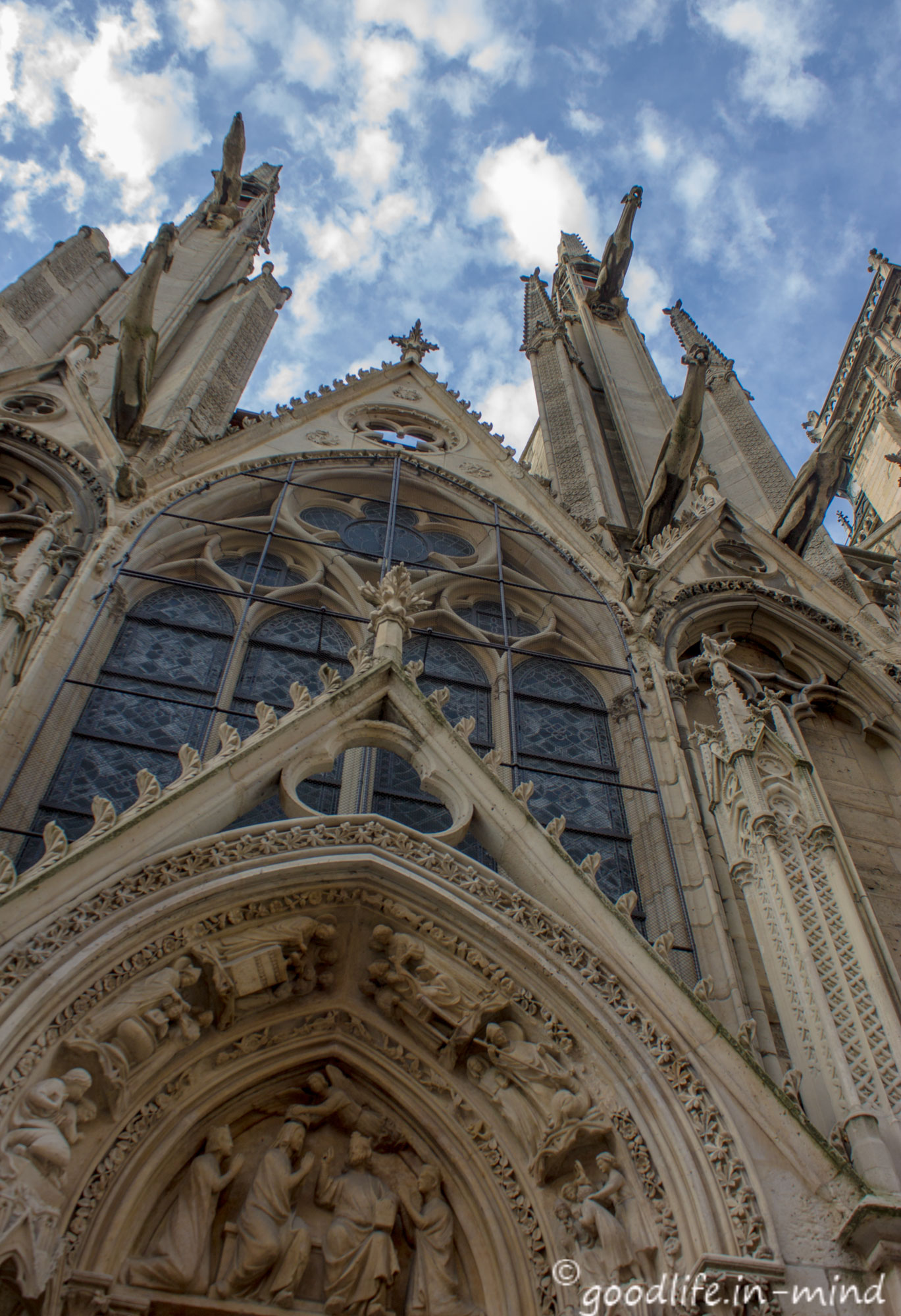 Haupteingang Notre-Dame