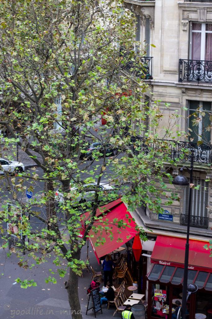 Straßencafe Paris