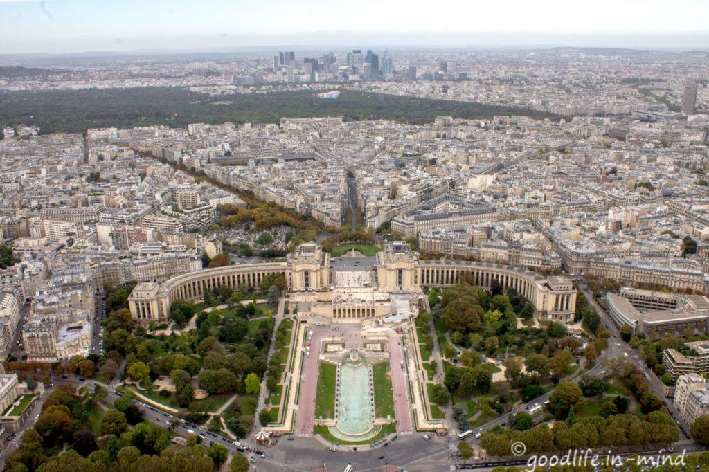 Paris vom Eiffelturm