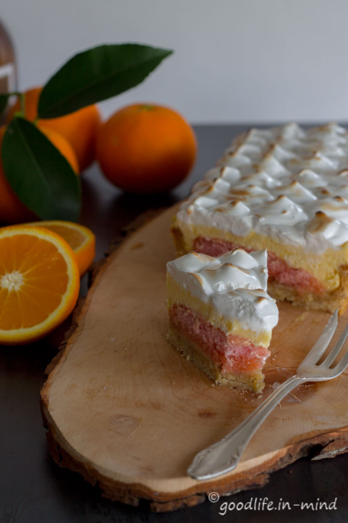 Orangencreme-Tarte-Meringue Rezept Goodlife in mind