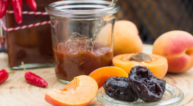 BBQ Sauce mit Aprikosen und ein Ausflug ins Allgäu