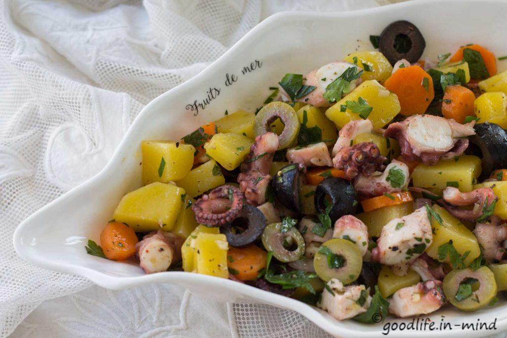 Pulpo Salat