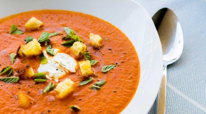 Tomatensuppe purer Genuss (nach Jamie Oliver)